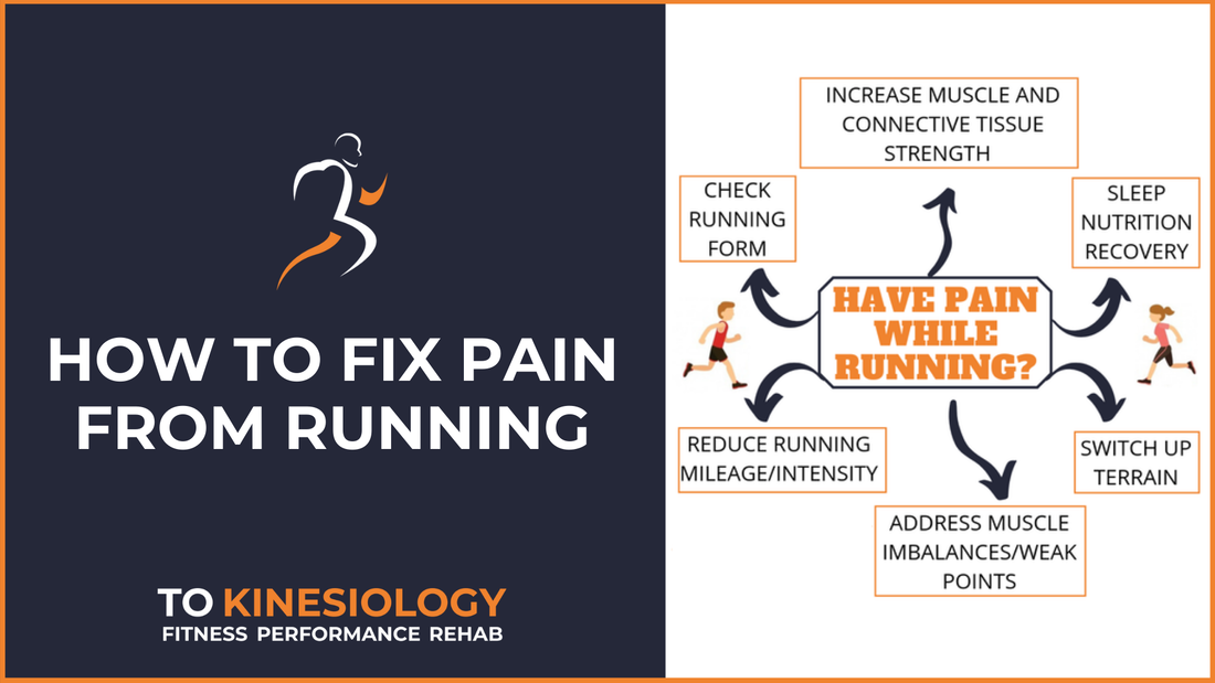 How to fix pain from running